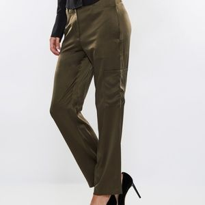 Theory Silk Thorelle Pants